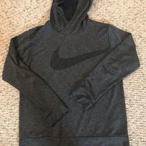 Boys Nike dry fit hoody tee